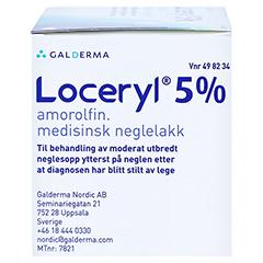 Loceryl gegen Nagelpilz 1x3 Milliliter N1 - Rechte Seite