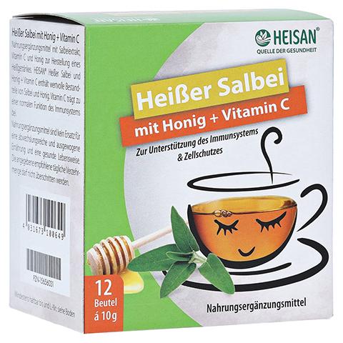HEISAN heißer Salbei+Honig+Vitamin C Pulver 12x10 Gramm