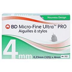 BD MICRO-FINE ULTRA Pro Pen-Nadeln 0,23x4 mm 32 G 105 Stück - Vorderseite