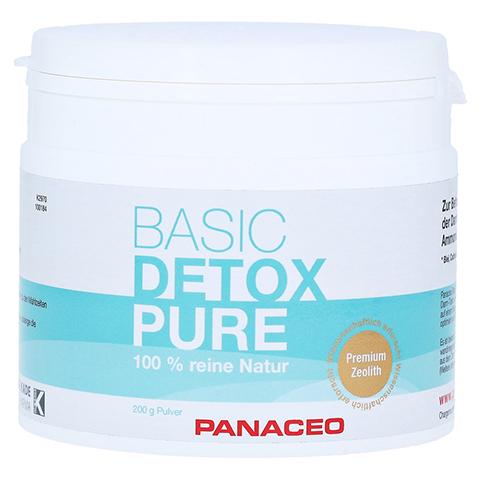 PANACEO Basic-Detox Pure Pulver 200 Gramm