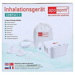APONORM Inhalationsgerät Compact 2 1 Stück - Rechte Seite