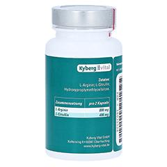 AMINOPLUS Arginin+Citrullin Kapseln 60 Stück - Linke Seite