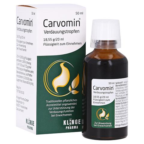 Carvomin Verdauungstropfen 50 Milliliter