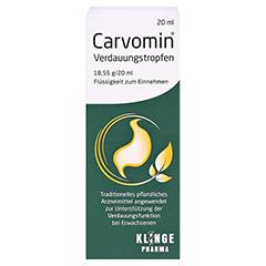 Carvomin Verdauungstropfen 20 Milliliter - Vorderseite