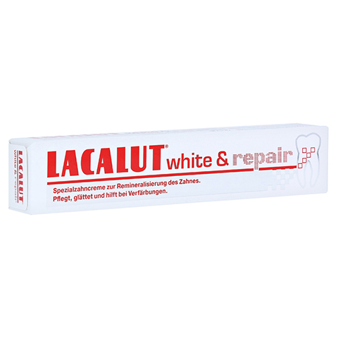 Lacalut White & repair Zahncreme 75 Milliliter
