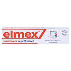 Elmex mentholfrei 75 Milliliter - Vorderseite