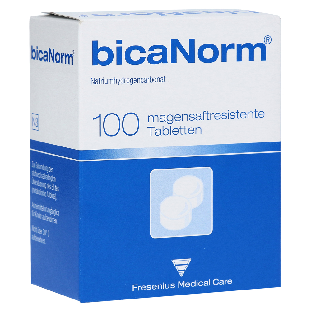 Fresenius Medical Care Deutschland GmbH BicaNorm Tabletten magensaftresistent 100 Stück