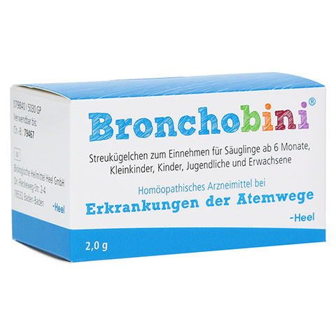 BRONCHOBINI Globuli 2 Gramm N1