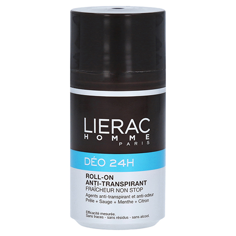 LIERAC Homme Deo Roll-on 24h 50 Milliliter
