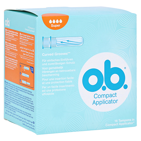 COMPACT Applicator f.o.b.Tampons super 16er 16 Stück