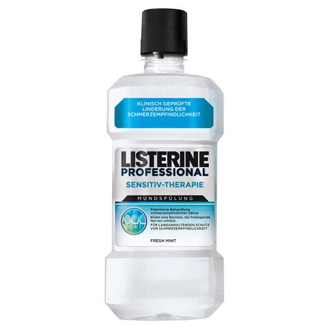 LISTERINE Professional Sensitiv-Therapie Mundspül. 500 Milliliter