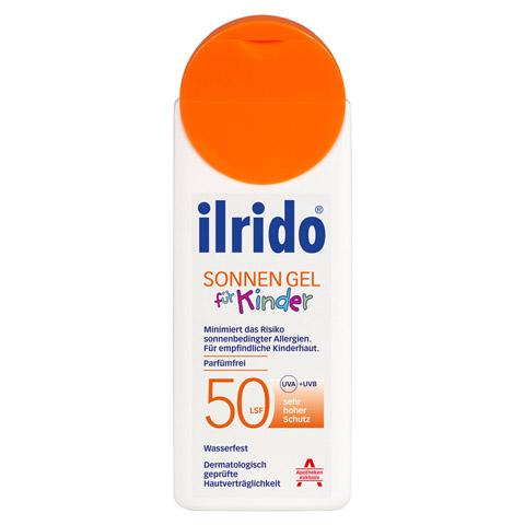 ILRIDO Sonnen Gel LSF 50 für Kinder 125 Milliliter
