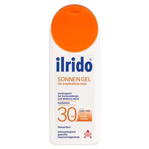 ILRIDO Sonnen Gel LSF 30 125 Milliliter