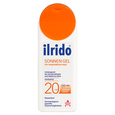 ILRIDO Sonnen Gel LSF 20 125 Milliliter