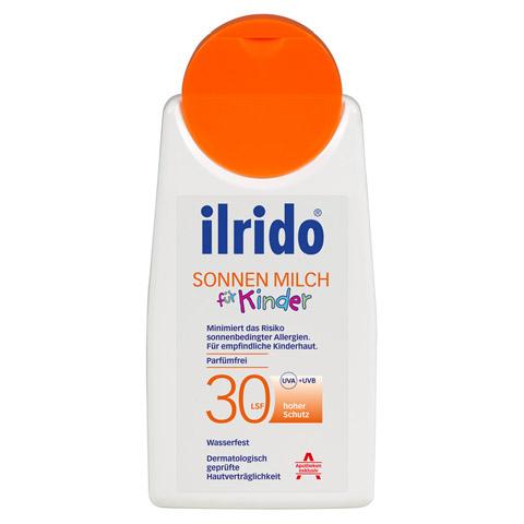 ILRIDO Sonnen Milch LSF 30 für Kinder 125 Milliliter
