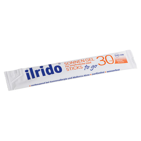 ILRIDO Sonnen Gel LSF 30 To Go 12x6 Milliliter