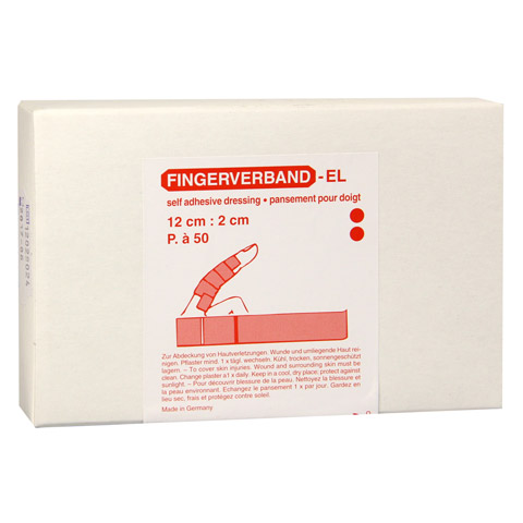 FINGERVERBAND detektierbar 2x12 cm 100 Stück