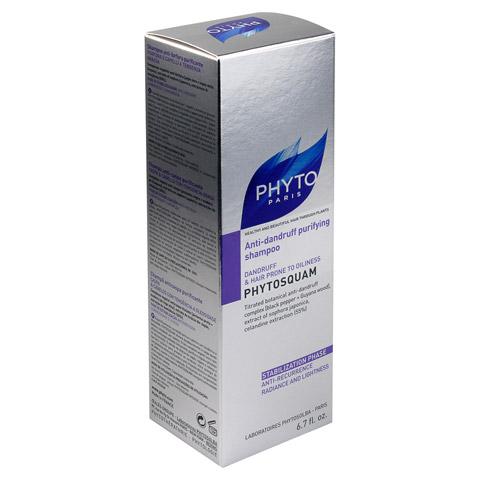 PHYTOSQUAM Anti-Schuppen tiefenreinigendes Shampoo 200 Milliliter