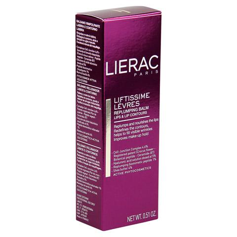 LIERAC Liftissime Levres Lippen Creme 15 Milliliter