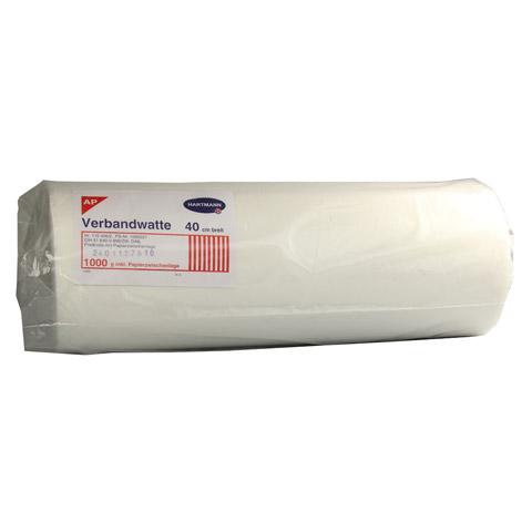 VERBANDWATTE zickzack Hartmann Roll.m.Papierzw.Lg. 1000 Gramm