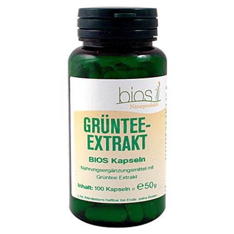 GRÜNTEE Extrakt Bios Kapseln 100 Stück