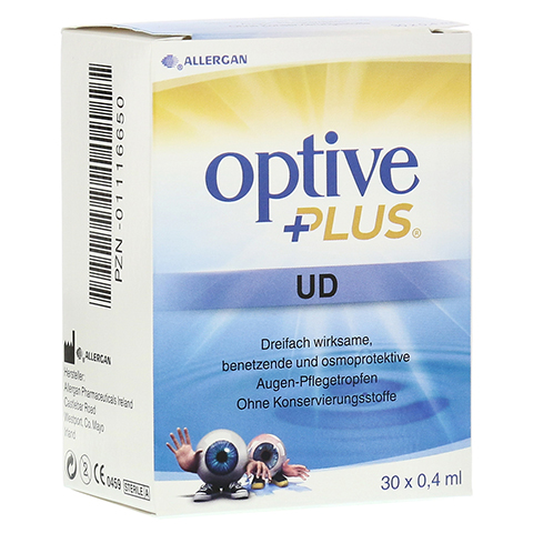 OPTIVE PLUS UD Augentropfen 30x0.4 Milliliter