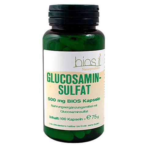 GLUCOSAMINSULFAT 500 mg Bios Kapseln 100 Stück