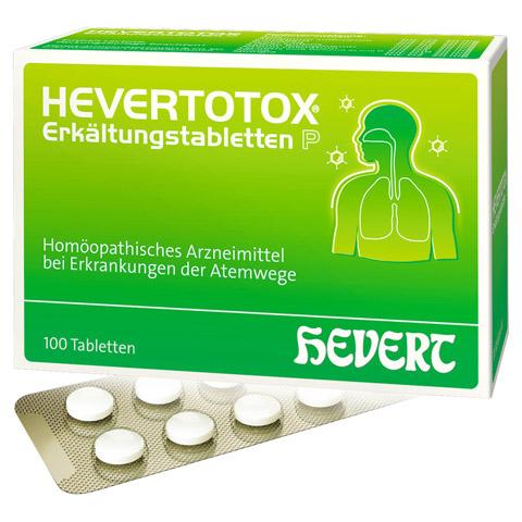 HEVERTOTOX Erkältungstabletten P 100 Stück N1