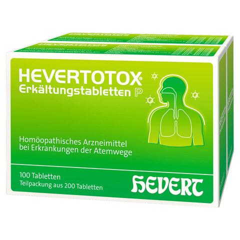 HEVERTOTOX Erkältungstabletten P 200 Stück N2