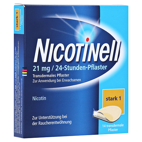 Nicotinell 52,5mg/24Stunden 14 Stück