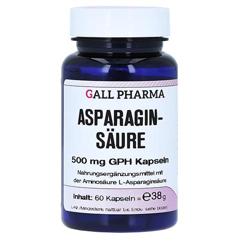 ASPARAGINSÄURE 500 mg GPH Kapseln 60 Stück
