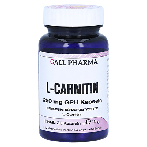 L-CARNITIN 250 mg Kapseln 30 Stück