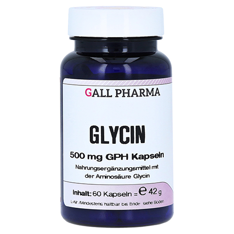 GLYCIN 500 mg Kapseln 60 Stück