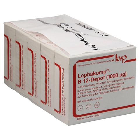 LOPHAKOMP B 12 Depot 1000 µg Injektionslösung 50x2 Milliliter