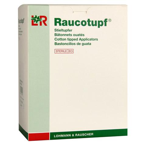 RAUCOTUPF Stieltupfer 2 St ster.kleiner Wattekopf 100x2 Stück