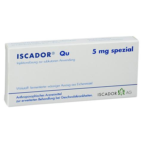 ISCADOR Qu 5 mg spezial Injektionslösung 7x1 Milliliter N1