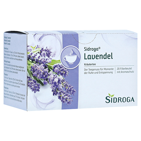 SIDROGA Lavendel 20 Stück