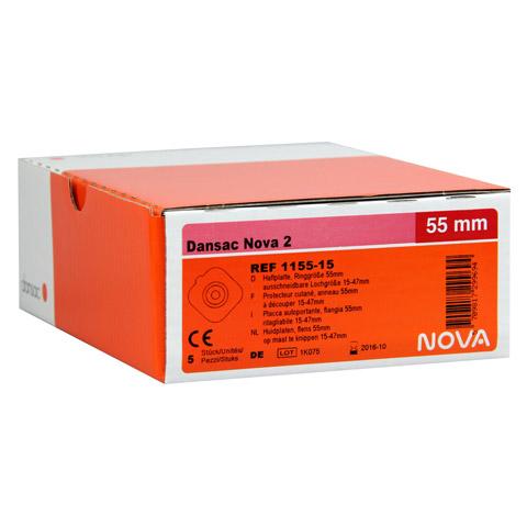 DANSAC Nova 2 Basispl.plan RR55 15-47mm 5 Stück