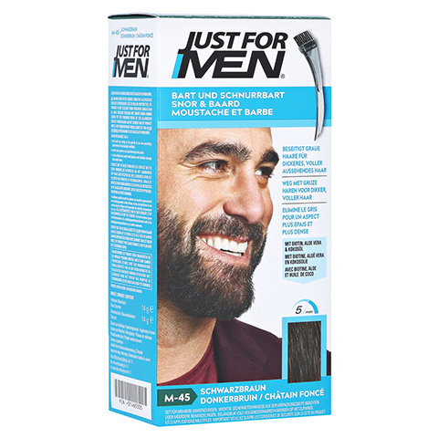 JUST for men Brush in Color Gel schwarzbraun 28.4 Milliliter
