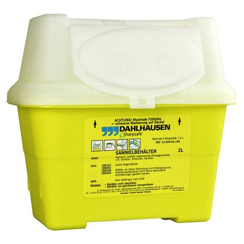 SHARPSAFE Abwurfbehälter 2 l 1 Stück