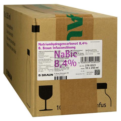 NATRIUMHYDROGENCARBONAT B.Braun 8,4% Glas 10x250 Milliliter N2
