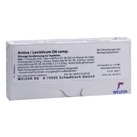 ARNICA/LEVISTICUM D 6 comp.Ampullen 8x1 Milliliter N1
