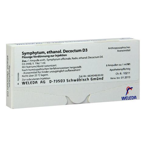 SYMPHYTUM D 3 Ampullen 8x1 Milliliter N1