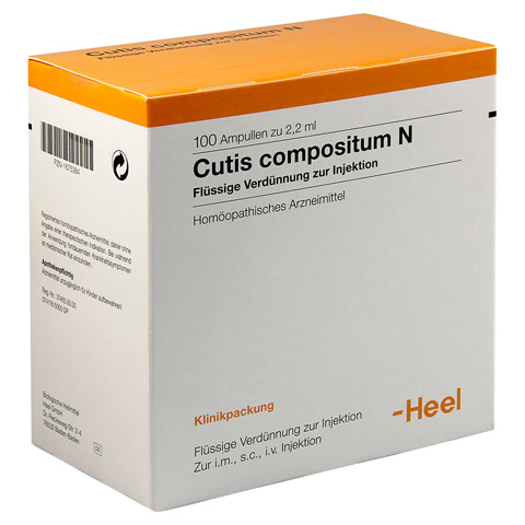 CUTIS compositum N Ampullen 100 Stück N3