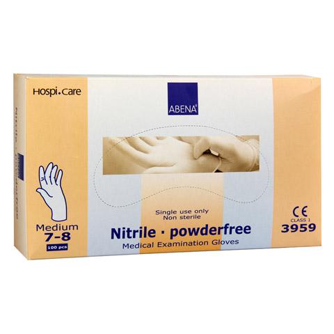 NITRIL Handschuhe akzeleratorenfrei puderfr.medium 100 Stück