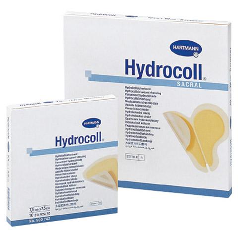 HYDROCOLL Wundverband 7,5x7,5 cm 10 Stück