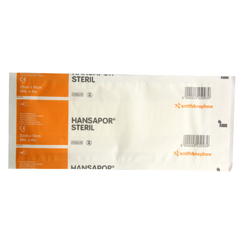 HANSAPOR steril Wundverband 10x25 cm 1 Stück