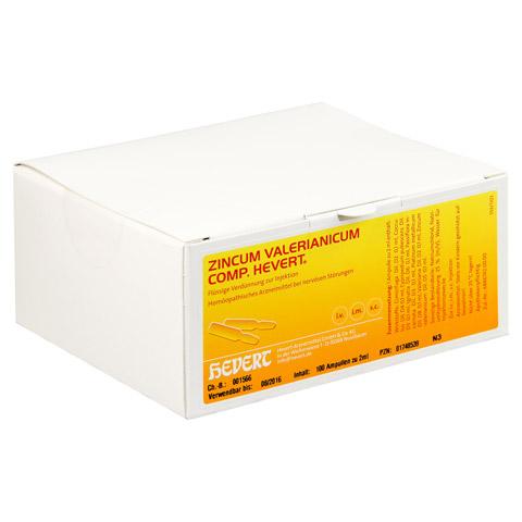 ZINCUM VALERIANICUM COMP.Hevert Ampullen 100 Stück N3