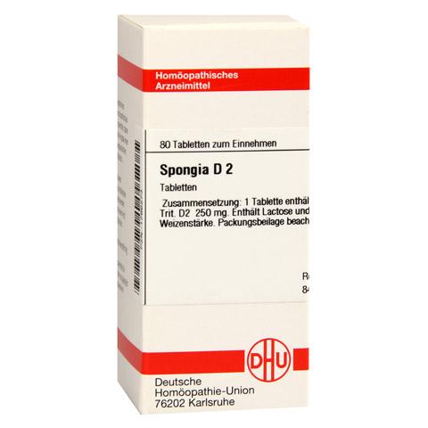 SPONGIA D 2 Tabletten 80 Stück N1