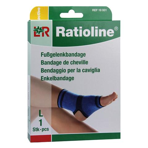 RATIOLINE active Fußgelenkbandage Gr.L 1 Stück